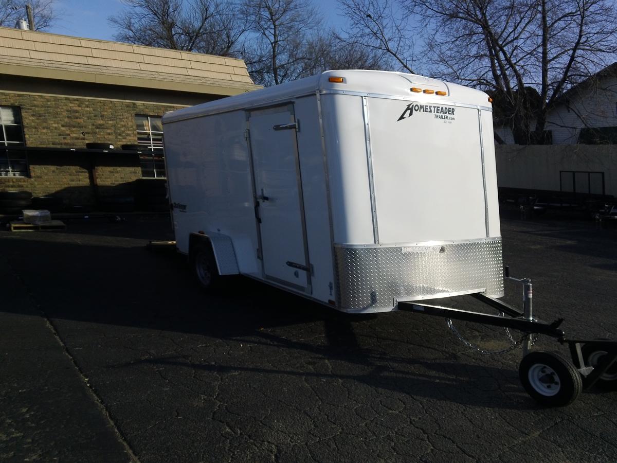 6x12 Tandem Enclosed Cargo Trailer
