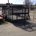 $3150 Landscape Trailer with Cage